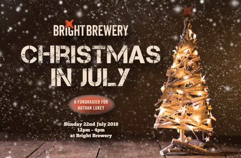 Bright Brewery Christmas In July fundrasier event 2018